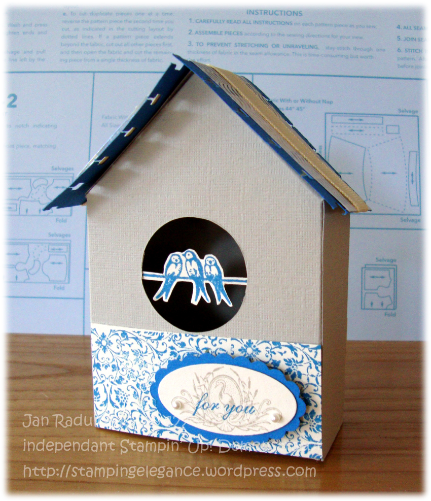 The birdhouse template came from a cute little website for kids called ...