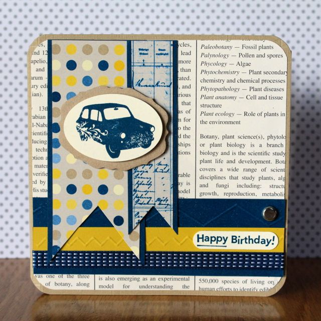 The Challenges Of Designing A Male Birthday Card Stamping Elegance