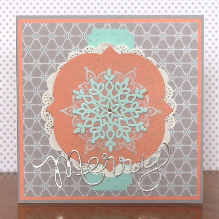 Merry Doily Card