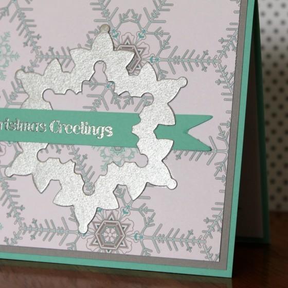 Snowflake Banner Card Close