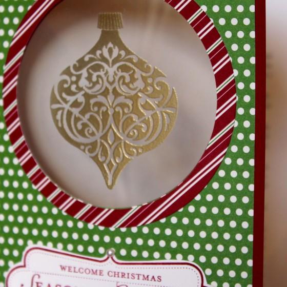 Ornament Window Card Close
